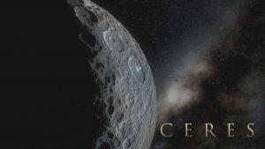 Symulacja powierchni Ceres