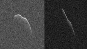 Radarowe obrazy planetoidy 2003 SD220
