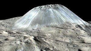 Ahuna Mons - lodowy wulkan na Cers