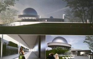 Planetarium Śląskie po przebudowie - projekt