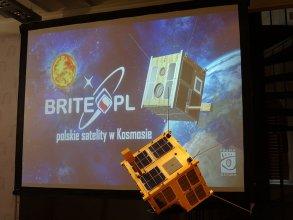 Model satelity BRITE-PL Heweliusz