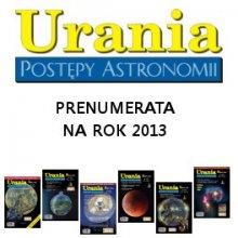 Urania - prenumerata na rok 2013