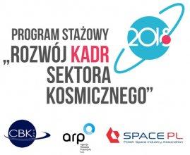 Program stażowy w sektorze kosmicznym 2018