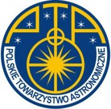 Logo Polskiego Towarzystwa Astronomicznego (PTA)