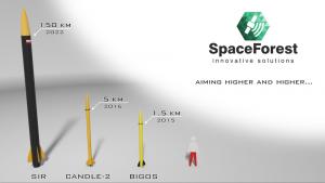 Rodzina rakiet SpaceForest