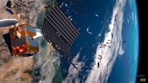 Satelita rozpada się w czasie deorbitacji