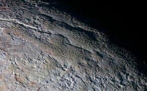 Pluton sfotografowany przez sondę New Horizons