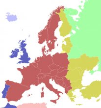 Strefy czasu urzędowego w Europie