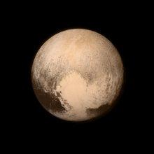 Pluton na zdjęciu z sondy New Horizons