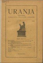 Urania nr 1/1922