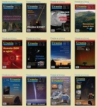 Galeria okładek Uranii