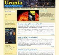 Witryna internetowa Uranii
