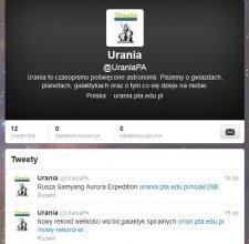 Urania na Twitterze