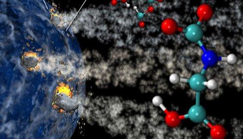 Czy komety były źródłem aminokwasów na Ziemi?