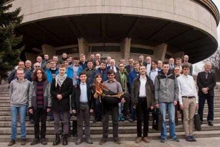 Uczestnicy zawodów finałowych 60. Olimpiady Astronomicznej