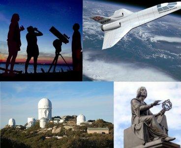 Różne formy astroturystyki