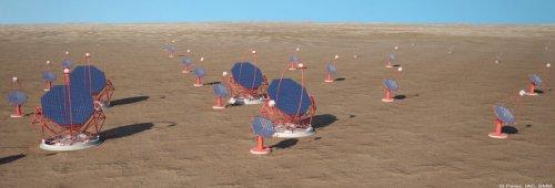 Sieć teleskopów CTA