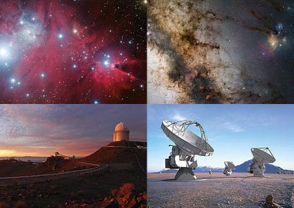 Astronomiczne pocztówki z ESO