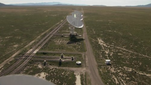 "Kadr z filmu ""Beyond the Visible: The Story of the Very Large Array"""