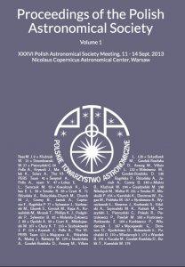 XXXVI Polish Astronomical Society Meeting - proceedings