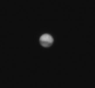 Mars - testowe zdjęcie z odległości 41 mln kilometrów