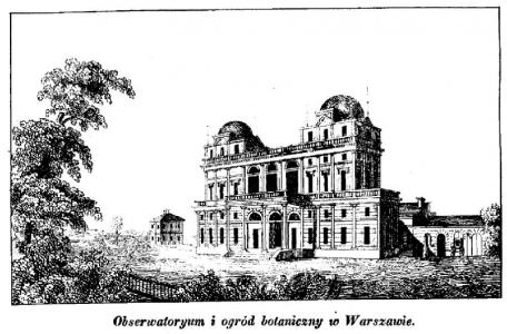 Obserwatorium Astronomiczne w Warszawie w 1845 roku