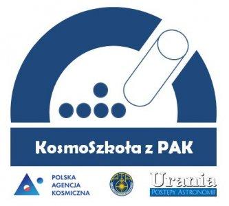 Logo konkursu KosmoSzkoła z PAK