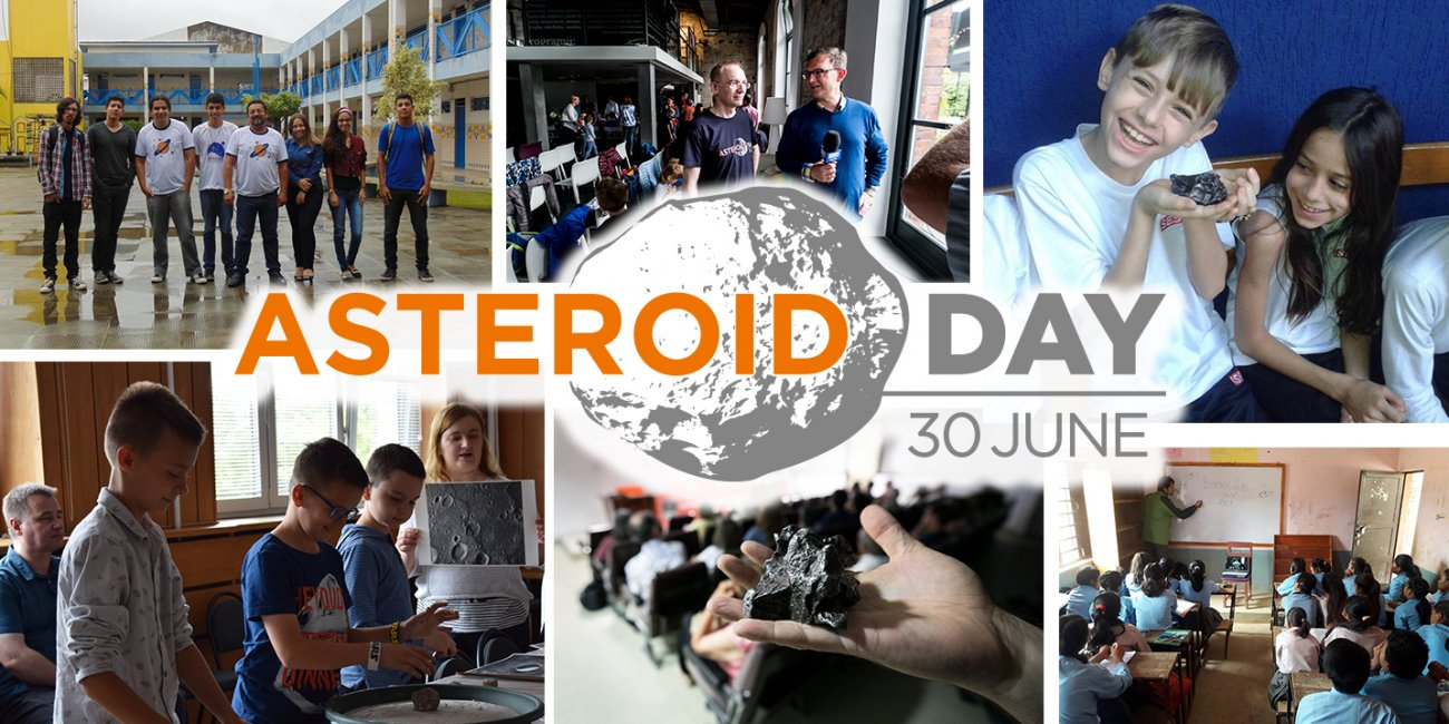 Asteroid Day - plakat