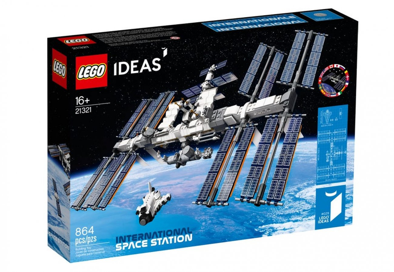 Zestaw LEGO® Ideas 21321 ISS (International Space Station)