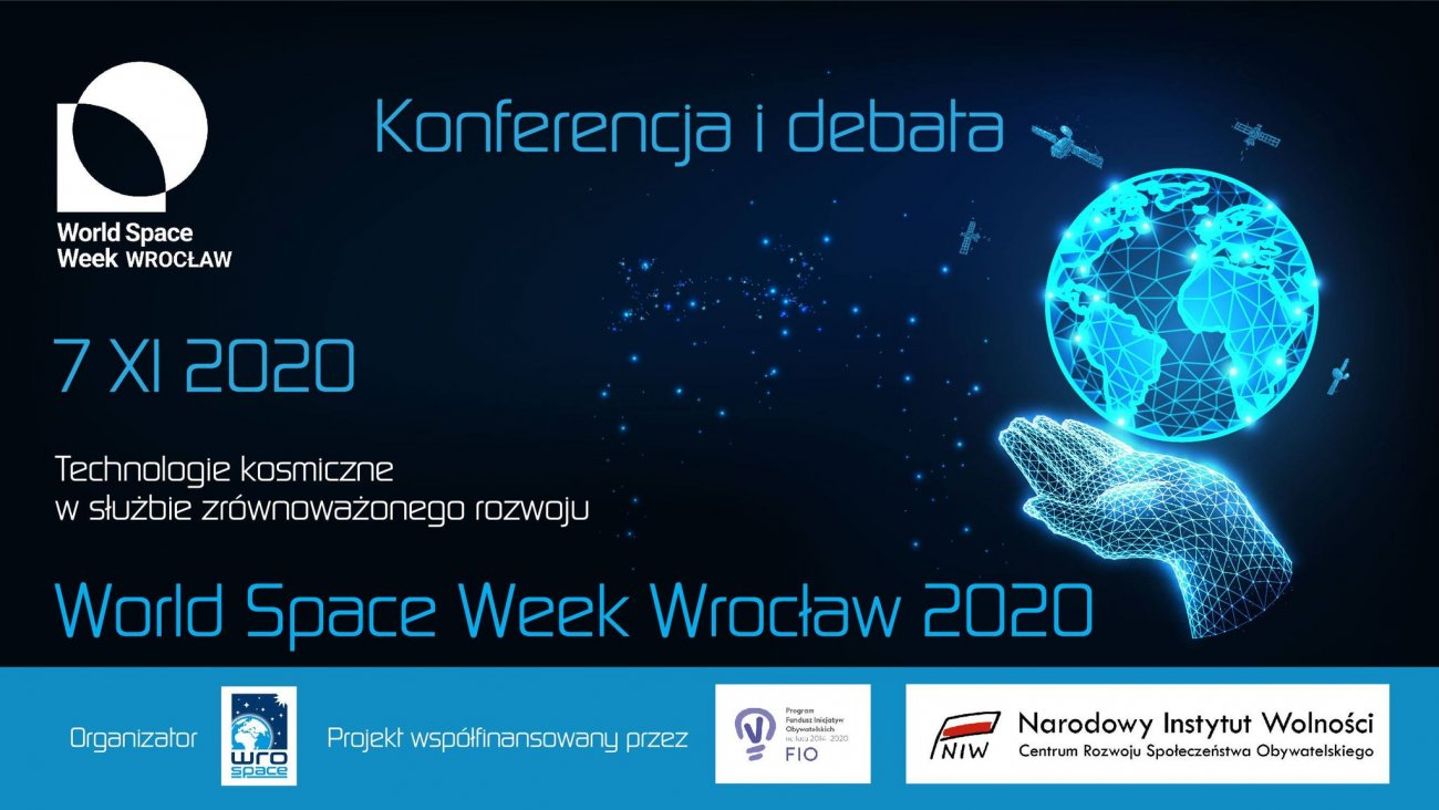 Konferencja i debata -  World Space Week Wrocław 2020