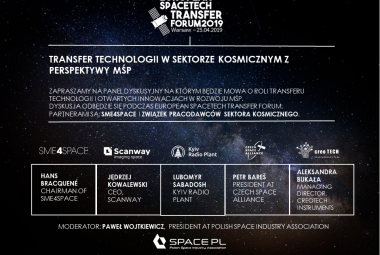 Konferencja European Spacetech Transfer Forum 2019
