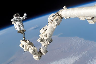 Robot Arm in Space