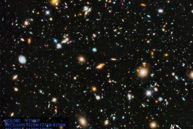 Hubble Ultra Deep Field 2014